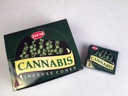 Cannabis, rökelsekoner, HEM
