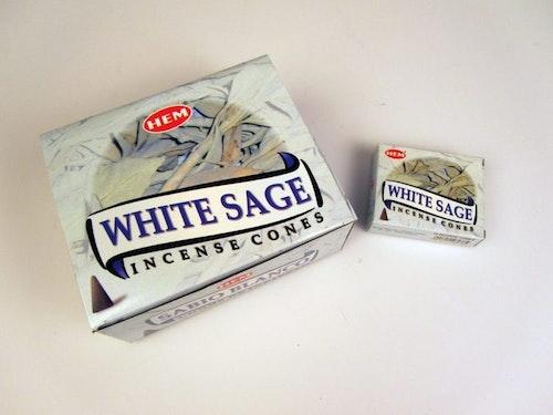 White Sage, rökelsekoner, HEM