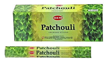 Patchouli, rökelse, HEM