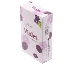 Violet, rökelsekoner, Stamford
