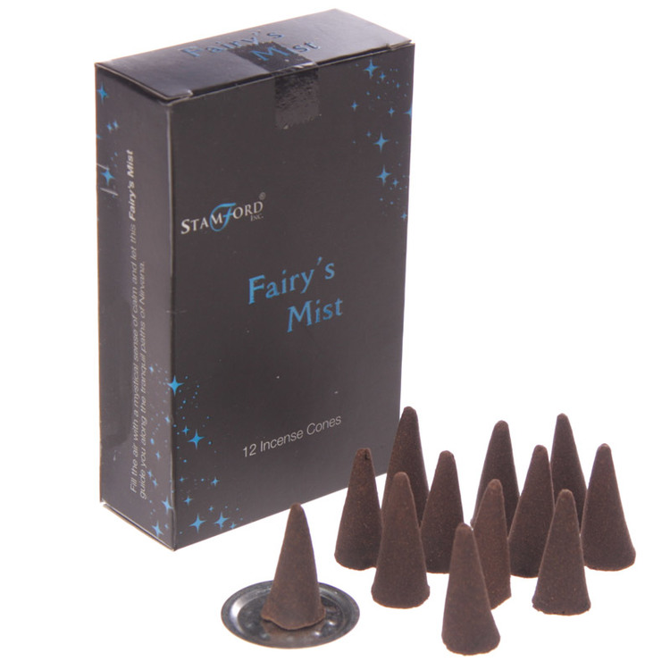 Fairys Mist, rökelsekoner, Stamford Black