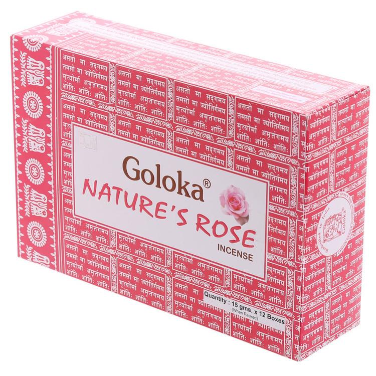 Natures Rose, ros, Goloka rökelse