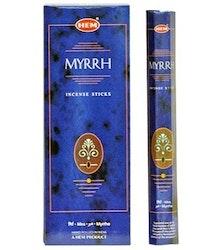 Myrrh, Myrra rökelse, HEM