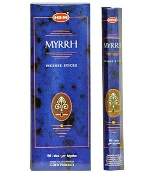 Myrrh, rökelse, HEM
