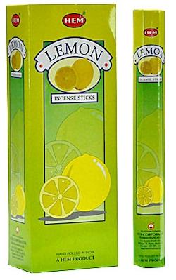 Lemon, rökelse, HEM
