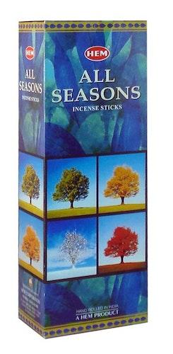 All Seasons, rökelse, HEM