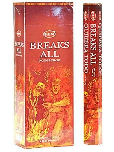 Breaks All, rökelse, HEM