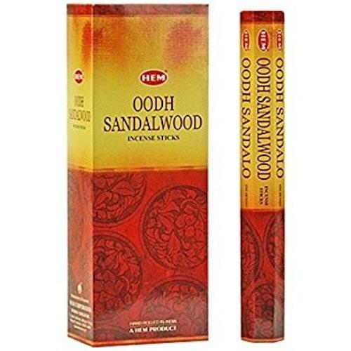 Oodh Sandalwood, rökelse, HEM