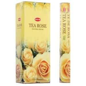 Tea Rose, Teros rökelse, HEM