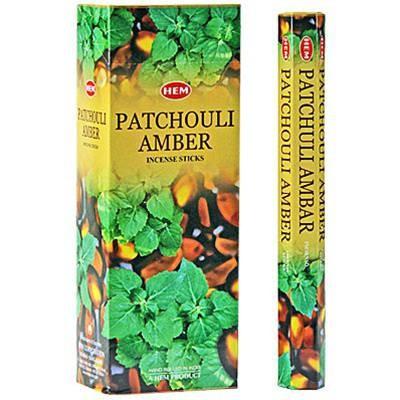 Patchouli Amber, Patchouli Bärnsten rökelse, HEM