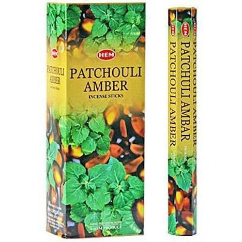 Patchouli Amber, rökelse, HEM