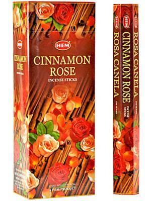 Cinnamon Rose, Kanel Ros rökelse, HEM