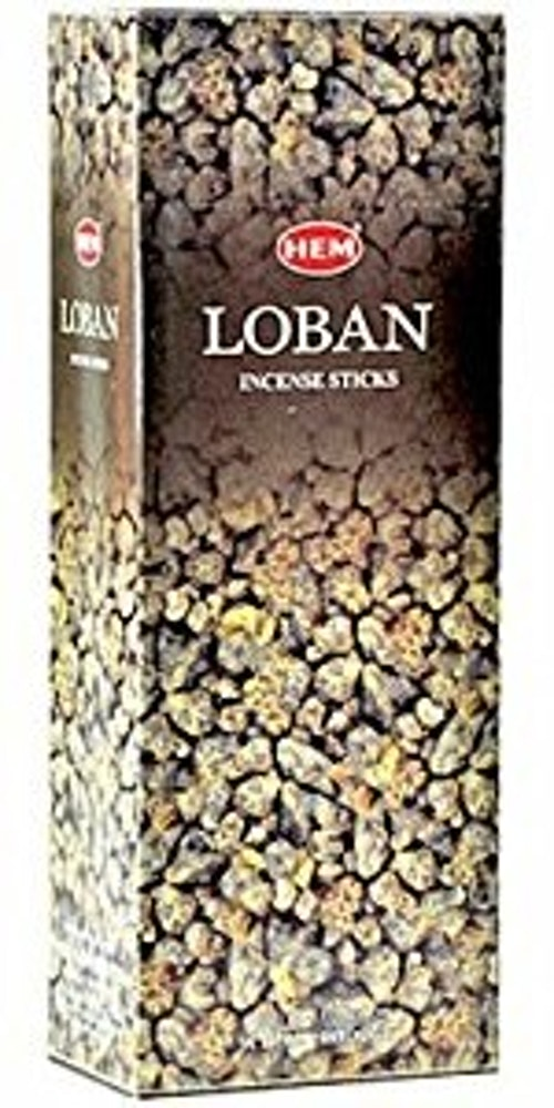 Loban, rökelse, HEM