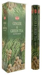 Ginger Green Tea, rökelse, HEM