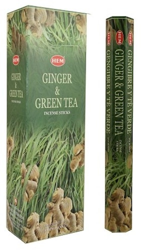 Ginger Green Tea, rökelse, HEM