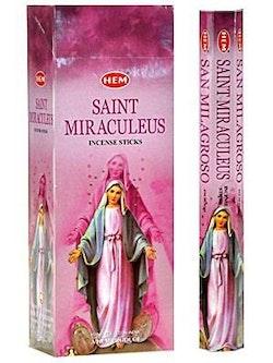 Saint Miraculeus, rökelse, HEM