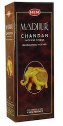 Madhur Chandan, rökelse, HEM