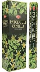 Patchouli Vanilla, rökelse, HEM