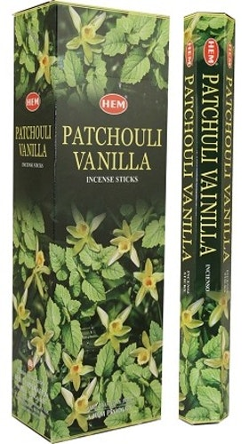Patchouli Vanilla, Patchouli Vanilj rökelse, HEM