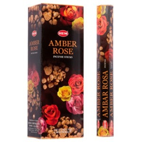 Amber Rose, rökelse, HEM
