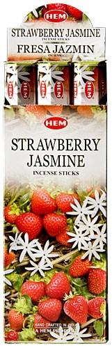 Strawberry Jasmine, Jordgubbe Jasmin rökelse, HEM