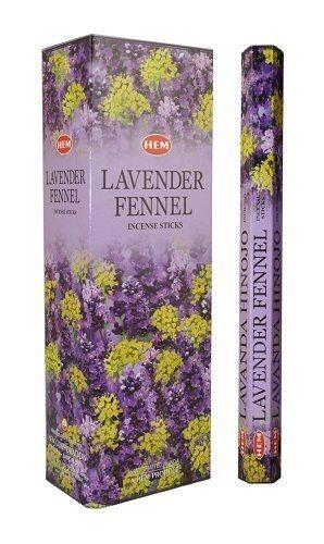 Lavender Fennel, Lavendel Fänkål rökelse, HEM