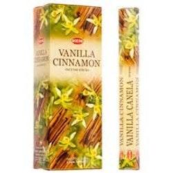 Vanilla Cinnamon, Vanilj Kanel rökelse, HEM