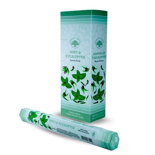 Mint and Eucalyptus, rökelse, Green Tree