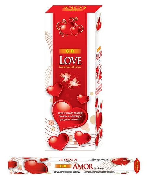 Love, rökelse, G.R Incense
