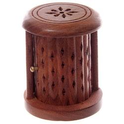 Carved Barrel för koner, Rökelsehållare