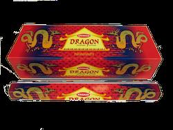 Dragon, rökelse, Krishan