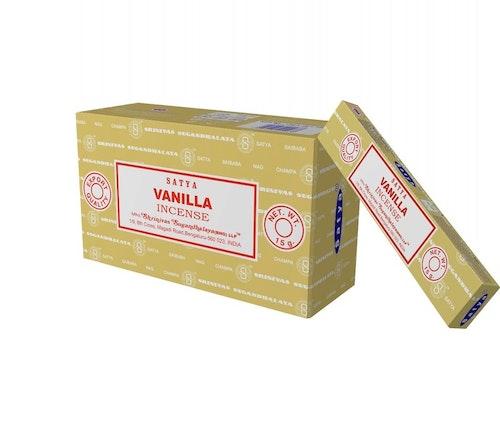 Vanilla, rökelse 15 g, Satya