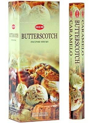 Butterscotch, Knäck rökelse, HEM