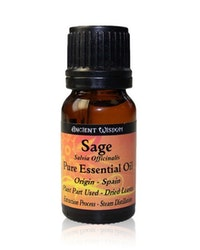Salvia, Sage, Eterisk Olja, Ancient Wisdom, 10ml