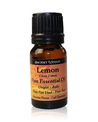 Citron, Lemon, Eterisk Olja, Ancient Wisdom, 10ml