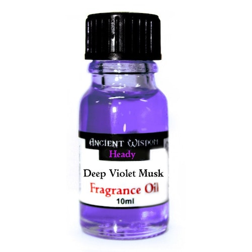 Deep Violet Musk, Doftolja 10ml, Ancient Wisdom