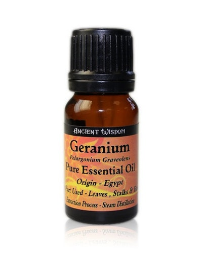 Geranium Eterisk Olja, Ancient Wisdom, 10ml