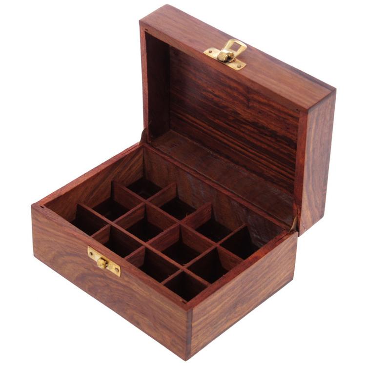 Låda för 12 Eteriska Oljor eller Parfymoljor