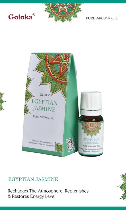 Egyptian Jasmine, Doftolja, 10ml Goloka