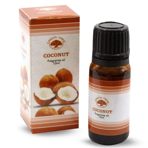 Coconut, Kokosnöt Doftolja, Green Tree 10ml