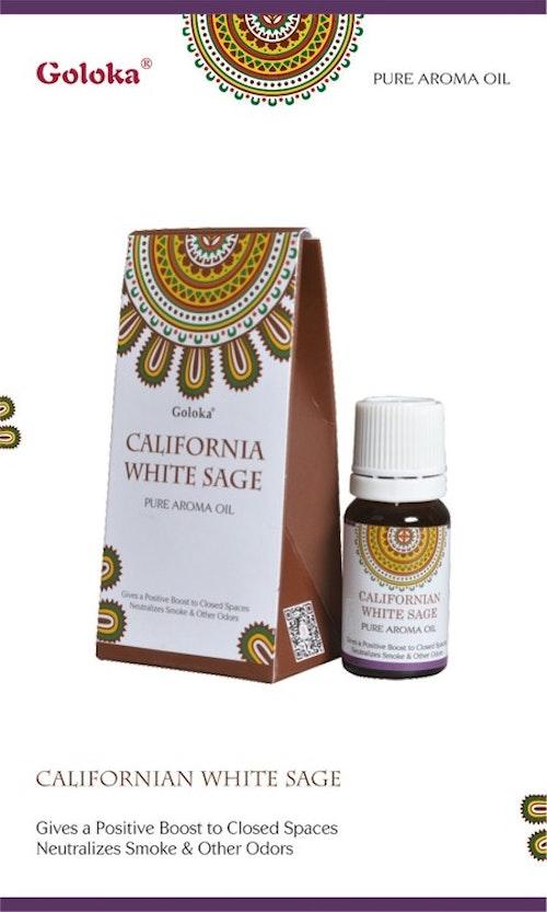 Californian White Sage, Doftolja, 10ml Goloka