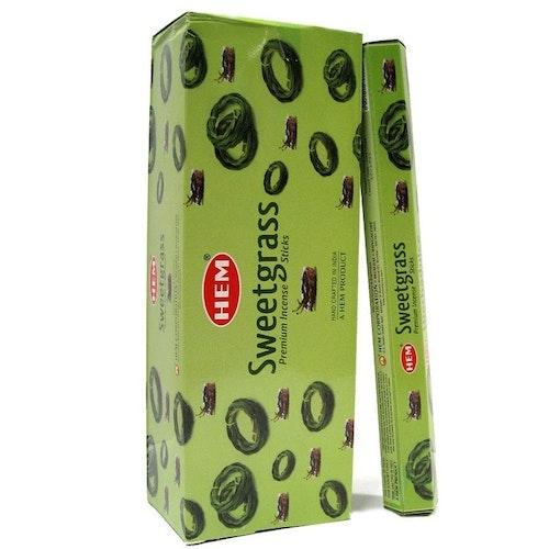 Sweetgrass, Myskgräs rökelse, HEM