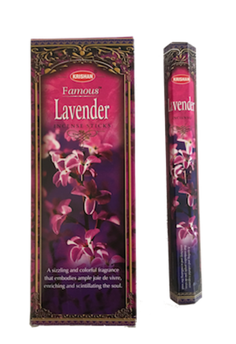 Famous Lavender, Lavendel rökelse, Krishan