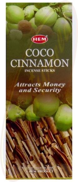 Coconut Cinnamon, rökelse, HEM