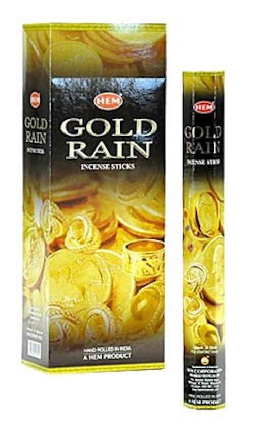 Gold Rain, rökelse, HEM