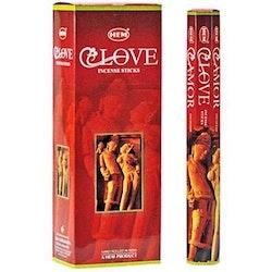Love, rökelse, HEM