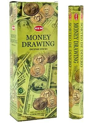 Money Drawing, rökelse, HEM