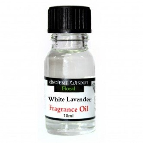 White Lavender, Vit Lavendel Doftolja 10ml, Ancient Wisdom