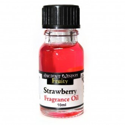 Strawberry, Jordgubbe Doftolja 10ml, Ancient Wisdom