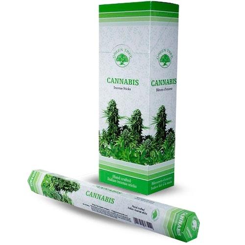 Cannabis, rökelse, Green Tree